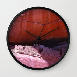 Canyon de Chelly National Park Spectacular Rock Canyons Wall Clock
