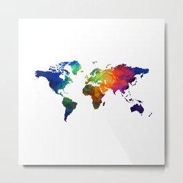 colour map 4 Metal Print