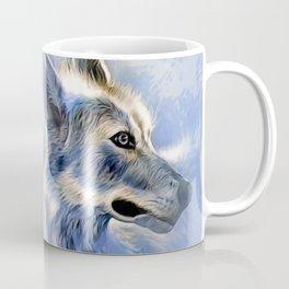 Ice Wolf Coffee Mug