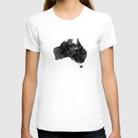 australia T-shirts featuring Australia by Jeremy Taylor Hamann