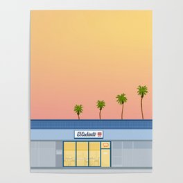 El Cochinito Storefront Poster