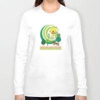 farm Long Sleeve T-shirts featuring Farm by Design4u Studio