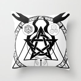Transgeekmate Throw Pillow