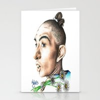 ahs Stationery Cards featuring Pepper -AHS by MELCHOMM