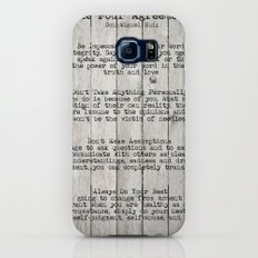 The Four Agreements Slim Case Galaxy S8