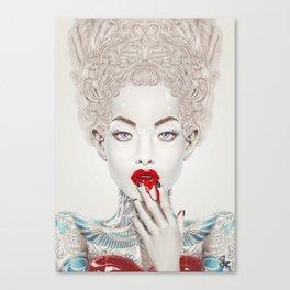 """""""Porcelain"""" Canvas Print"""