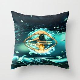 GEMINI from the Dancing Zodiac Throw Pillow