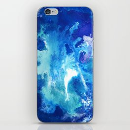 Nihal - Abstract Costellation Painting iPhone Skin