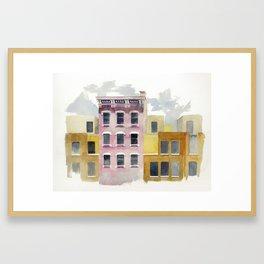 One Flamingo Framed Art Print