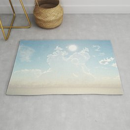 Cathedral of the Sun (Cloud series 19) Rug