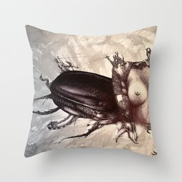 vermin Throw Pillow