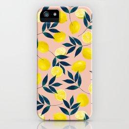Lemony Goodness iPhone Case