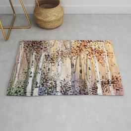 4 season watercolor collection - autumn Rug