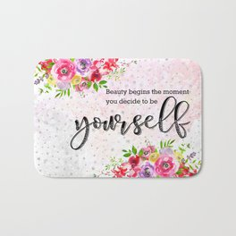 To be yourself Bath Mat