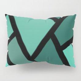 Line stitch Pillow Sham