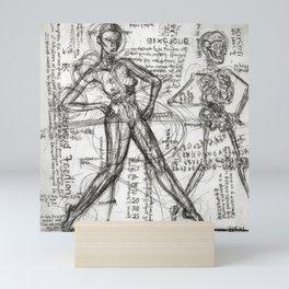 Clone Death - Intaglio / Printmaking Mini Art Print
