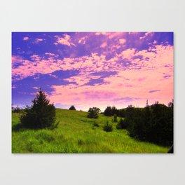 Fairytale Sunset Canvas Print