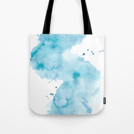 Creative watercolor wash. Watercolor texture Tote Bag