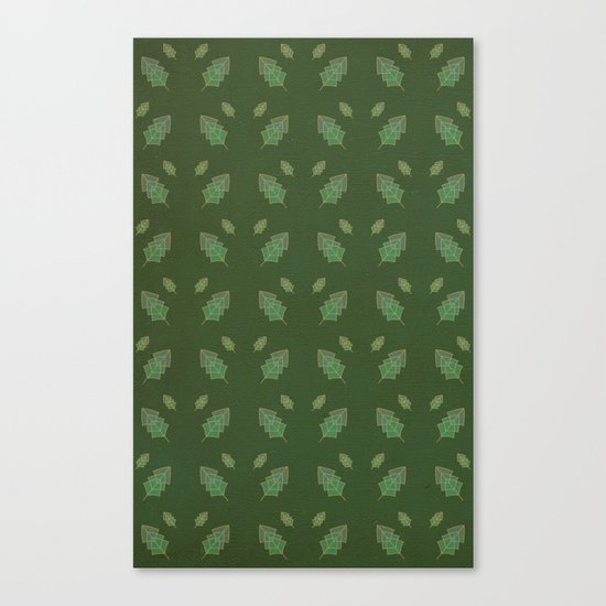 leaf pattern Canvas Print