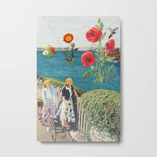 Sea Poppies Metal Print