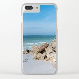 Siesta Key Clear iPhone Case