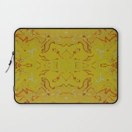 Sun Glow Abstract Watercolor Laptop Sleeve