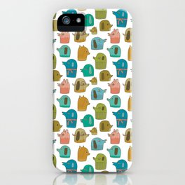 Pattern Project / Dogs iPhone Case