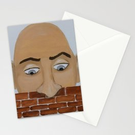 Wall-peeper Stationery Cards
