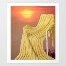 the fabric of reality (soft) Art Print