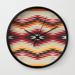 American Native Pattern No. 178 Wall Clock