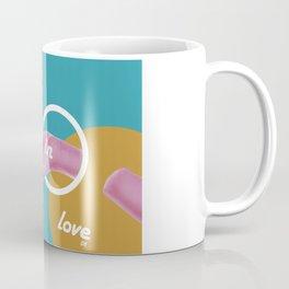 Graphic Poster #08 - Falling in Love Coffee Mug
