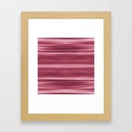 Abstraction Serenity in Rose Framed Art Print