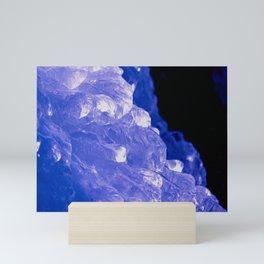 Purple Ice Mini Art Print