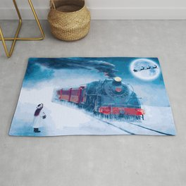 All Aboard! Christmas Express 2019 Rug