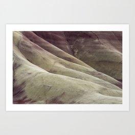 Hills as Canvas, No. 1 Art Print