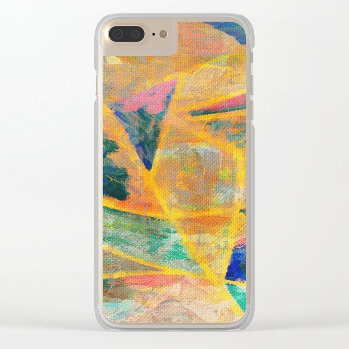 Jangadas 2 Clear iPhone Case