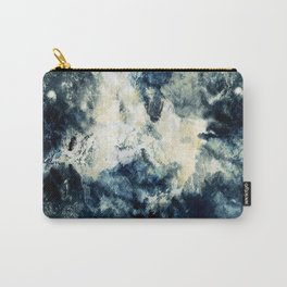 Drowning in Waves Texture Carry-All Pouch