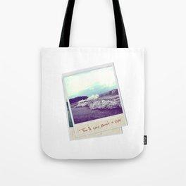 Fourth Sand Polaroid  Tote Bag