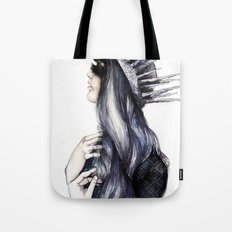 Ice Queen // Fashion Illustration Tote Bag