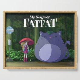 My Neighbor Fatfat Serving Tray