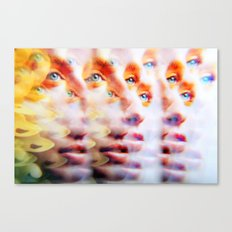 Eyes like Butterflies Canvas Print