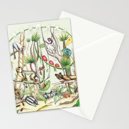 Endemic Species of Madagascar Stationery Cards