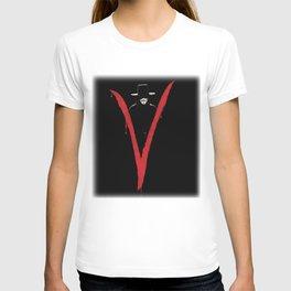 V for Vendett (e6) T-shirt