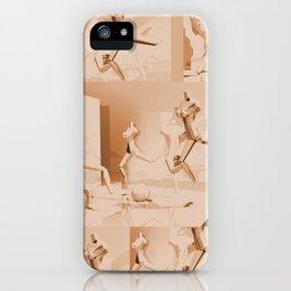 Retrò Contemporary Mannequin  iPhone Case