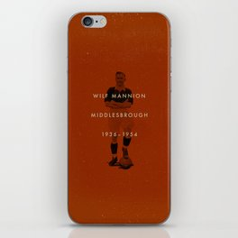 Middlesbrough - Mannion iPhone Skin