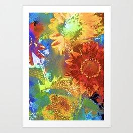 Sunflower 25 Art Print