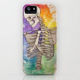 Todos tenemos un lado artistico iPhone Case