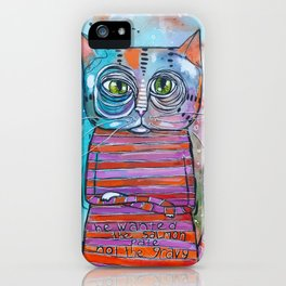 The Sass Cat iPhone Case