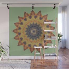 Sun Dial Wall Mural