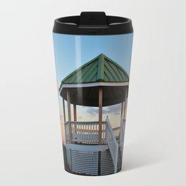 Gazebo At The Beach Travel Mug